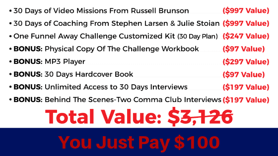One Funnel Away Challenge Review value